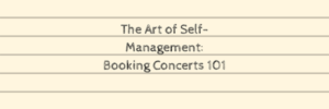 the-art-of-self-management-booking-101